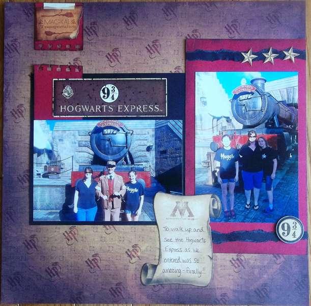 Harry Potter- Hogwarts Express-  Universal Studio's Islands of Adventure