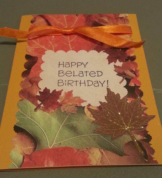 Fall Forgetful card