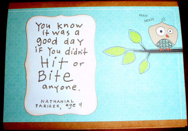 Ingrid's Graduation Card