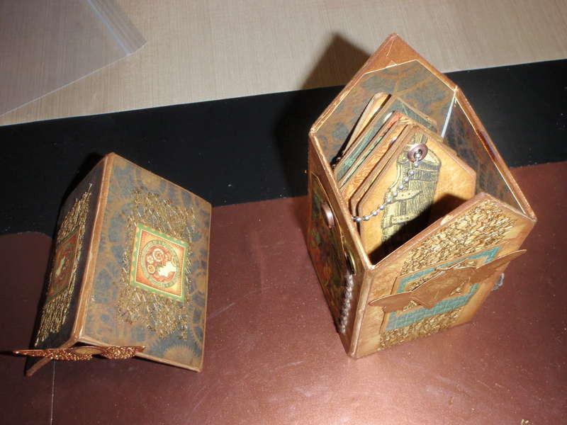 Steampunk Mini House Open