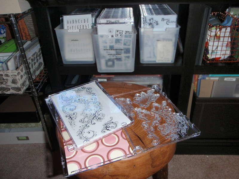 Unmounted Stamp Storage