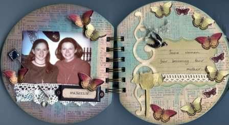 Mother's Day Mini Album - pgs 2-3