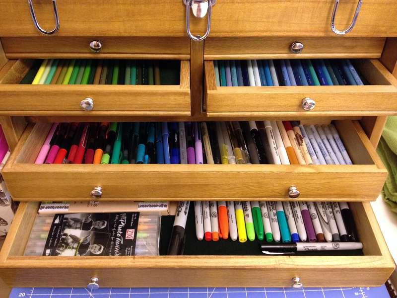 My New Pencil/Marker/Pen Box!