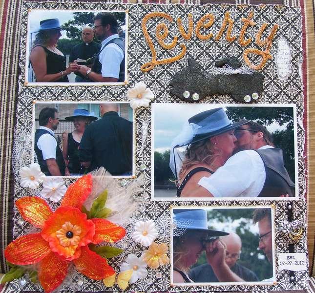 A Harley Wedding