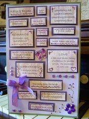 Wedding Card for Niece