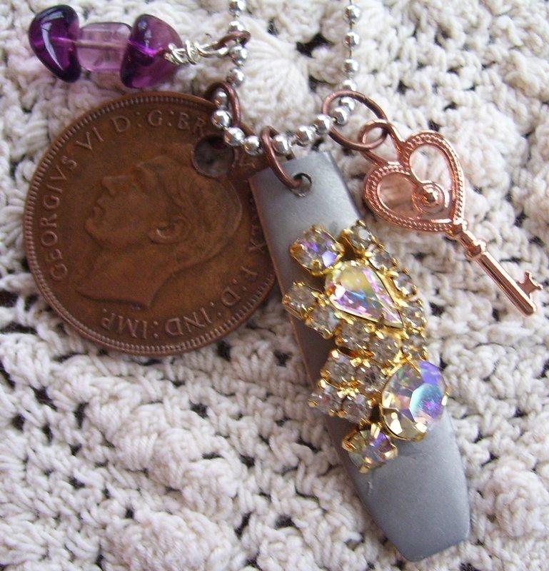 Silverware Charm Necklaces