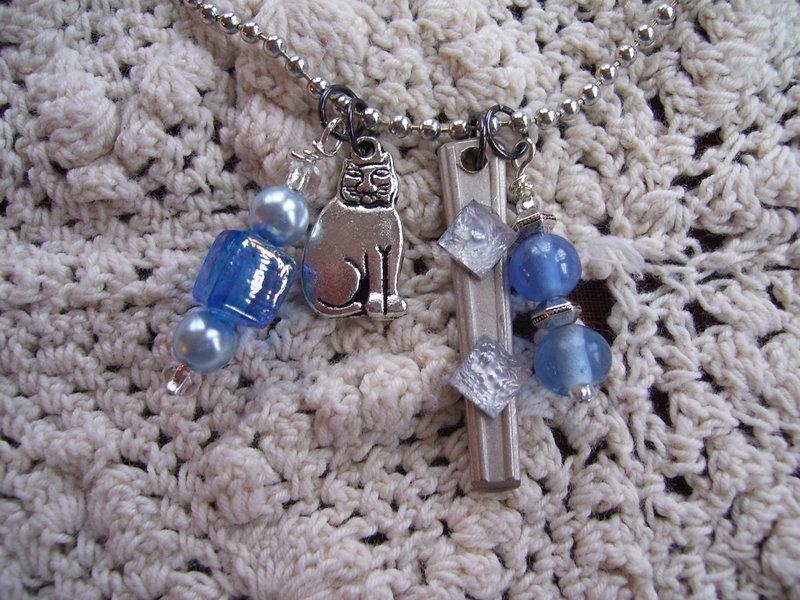 Silverware Charm Necklaces -