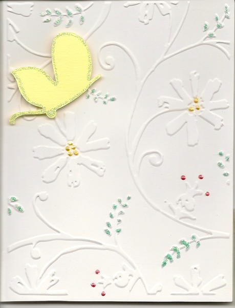 Embossed Butterfly
