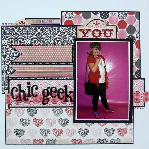 chic geek ~scraptastic club~