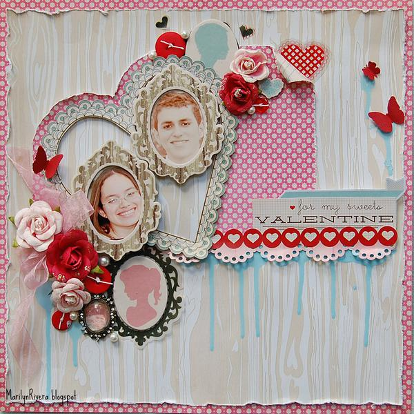For my sweets Valentines- **My Creative Scrapbook**..