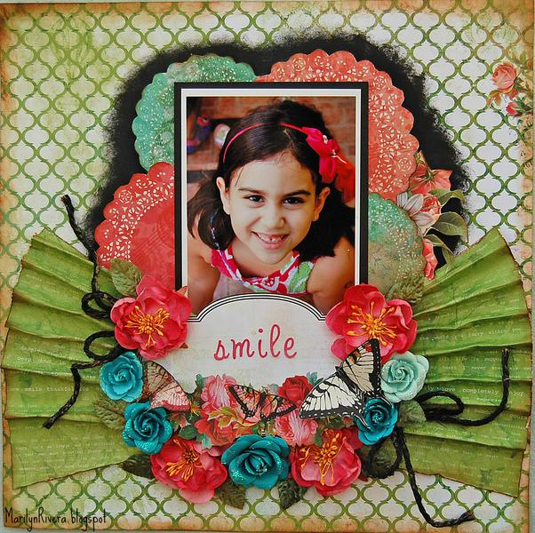 Smile- ***My Creative Scrapbook****
