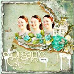 Organic- ScrapThat! July kit Reveal!