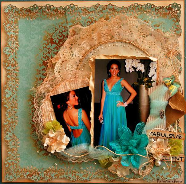 Fabulous Client- ScrapThat! August kit Once Upon a Dream