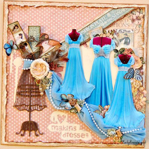 I love making dresses-ScrapThat! September kit Reveal- Victorian Dream