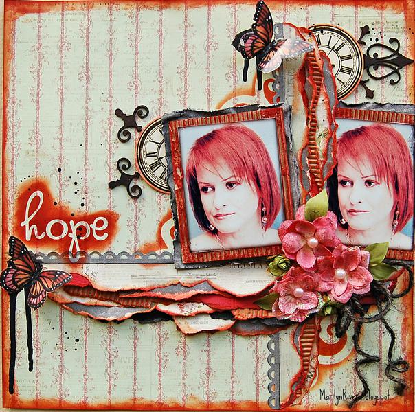 Hope- My Creative Scrapbook Nov kit