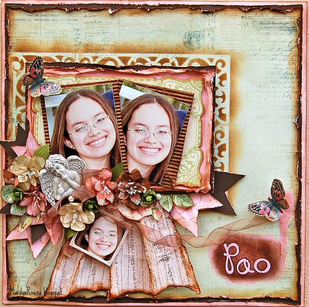 Pao-My Creative Scrapbook Nov Kit