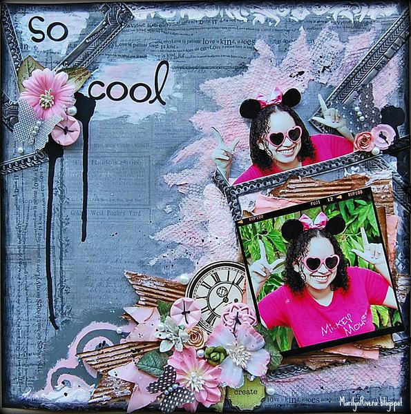 So Cool-My Creative Scrapbook Nov kit