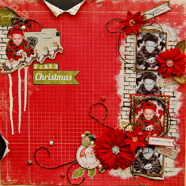 First Christmas-My Creative Scrapbook