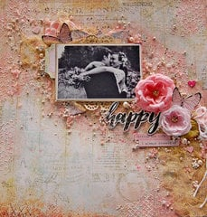 My Creative Scrapbook-Happy