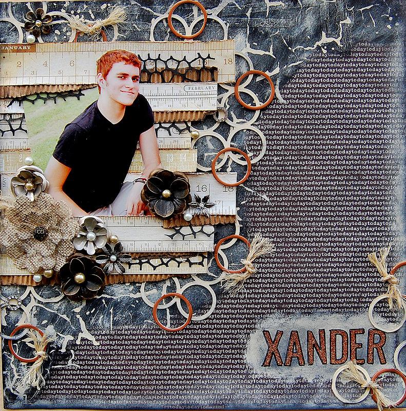 Xander-**My Creative Scrapbook***