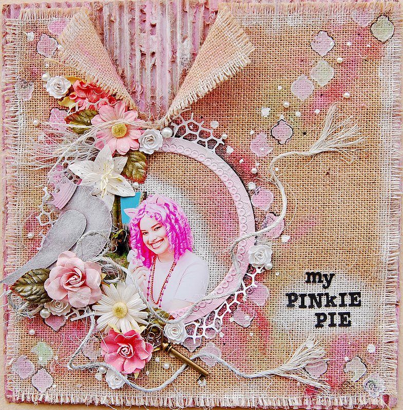 My Pinkie pie***My Creative scrapbook***