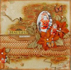 My Beautiful Pumkin-PaperHaus Magazine Blog Hop