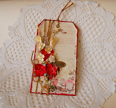 Romantic Tag- Scrapbook Adhesives 3L