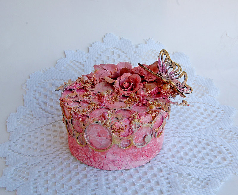 Altered Box- Creative Embellishments