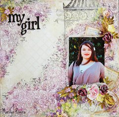 my girl- My Creative Scrapbook