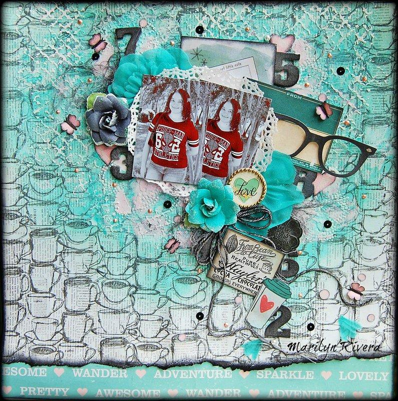 My Creative Scrapbook-LOVE