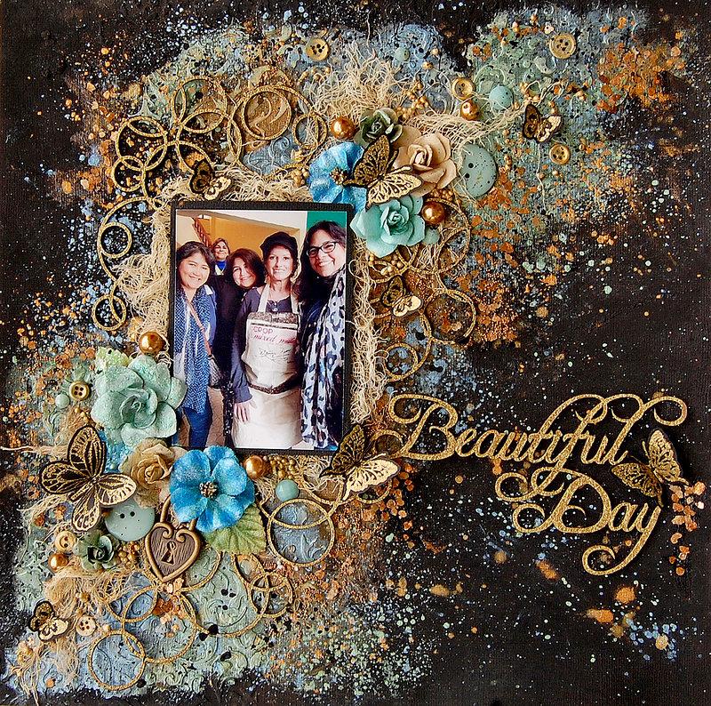 Beautiful Day- Creative Embellishments