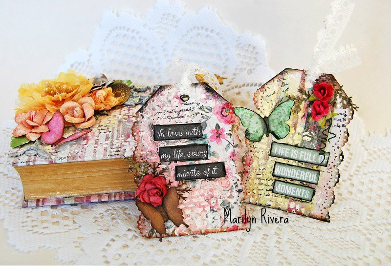 My Creative Scrapbook-An altered project
