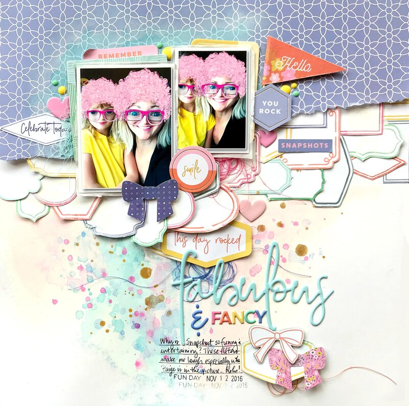Fabulous & Fancy *Pinkfresh Studio*