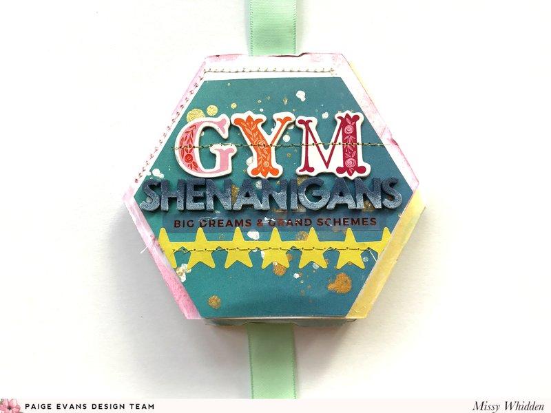 Gym Hexagon Mini Album *Paige Evans DT*