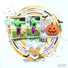 Halloween Hulk *Simple Stories*