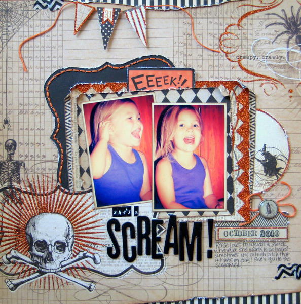 She's a Scream!