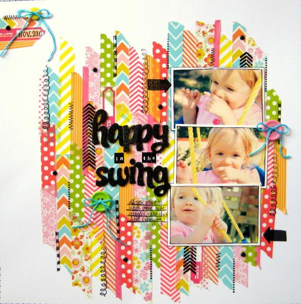 Happy in the Swing