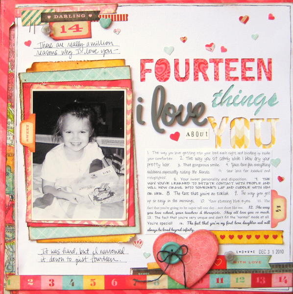 Fourteen Things I Love About You