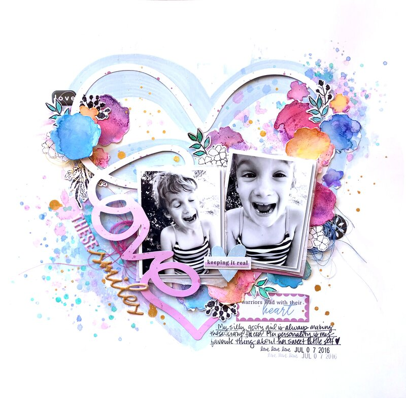 Love These Smiles *Pinkfresh Studio*