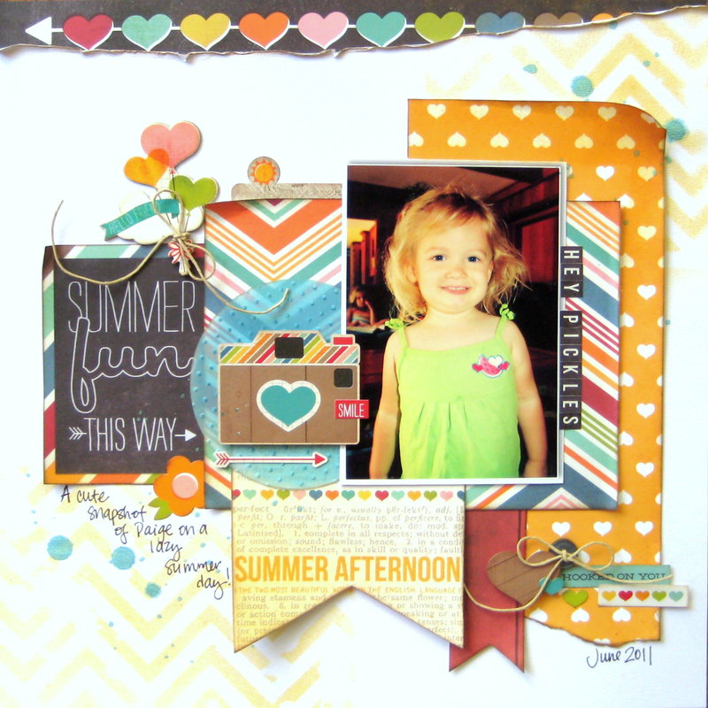Summer Fun This Way (My Creative Scrapbook)