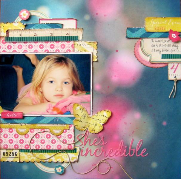 She's Incredible - My Creative Scrapbook April Main Kit
