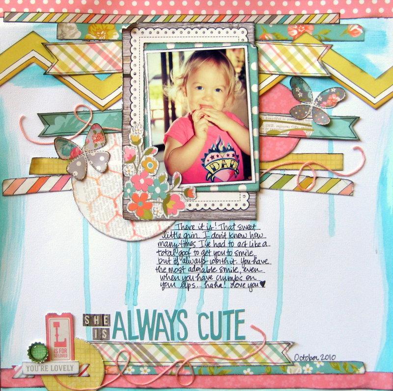 Always Cute {My Creative Scrapbook}