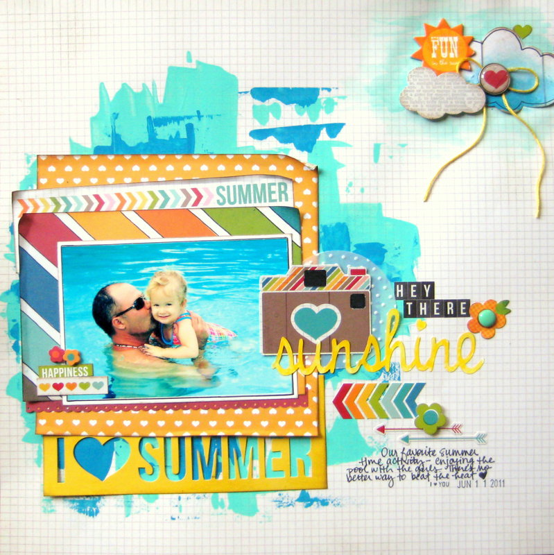 Hey There Sunshine {Simple Stories}