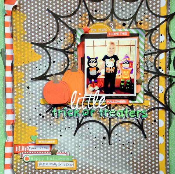 Little Trick or Treaters *Chickaniddy Crafts*