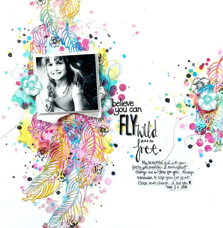 Fly Wild & Free *Jane Davenport/Spellbinders*