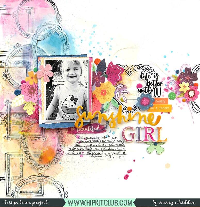Sunshine Girl *Hip Kit Club*