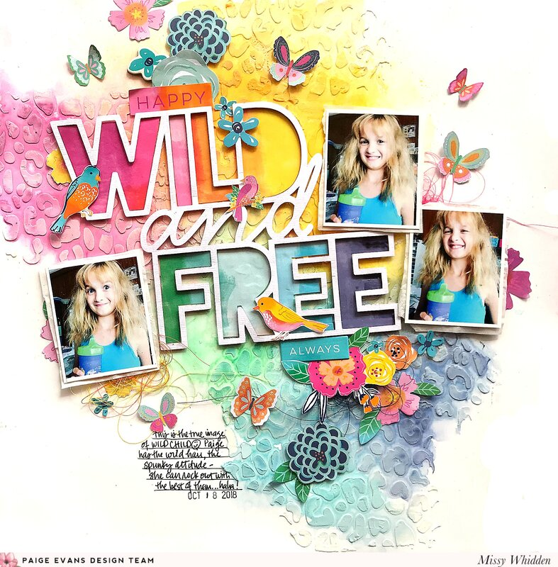 Wild and Free *Paige Evans DT*
