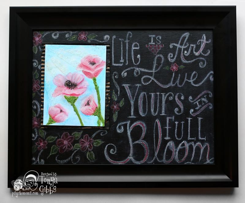 Bloom Chalkboard