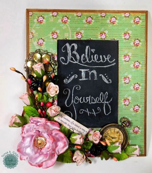 Marion Smith Designs - Chalkboard Mad Tea Party