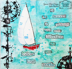 True North Art Journal Page
